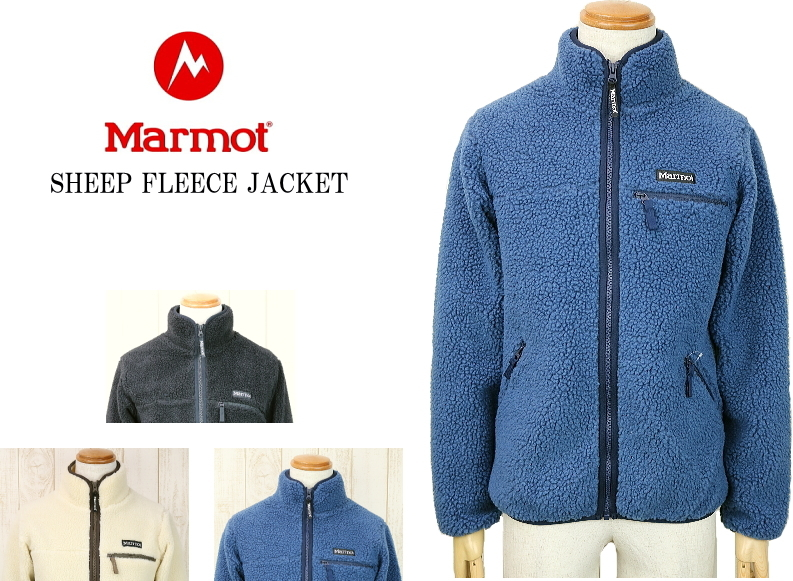 Marmot マーモット SHEEP FLEECE JACKET シープフリースジャケット TOMOJL38 3color 送料無料 セール品 お買い得