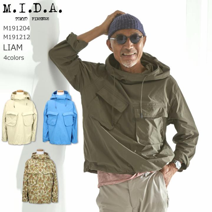 M.I.D.A. LIAM リアム 4color 2019SS 送料無料 M191204 4colors