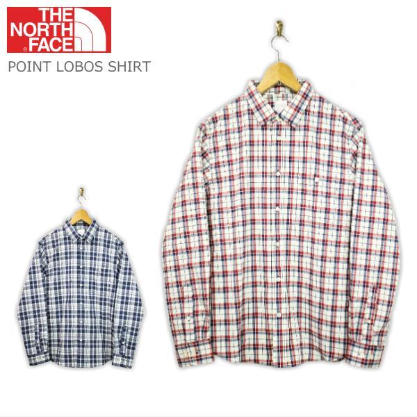 THE NORTH FACE ザ・ノースフェイス L/S POINT LOBOS SHIRTロングスリーブ ポイントロボス シャツ NR11723 2color