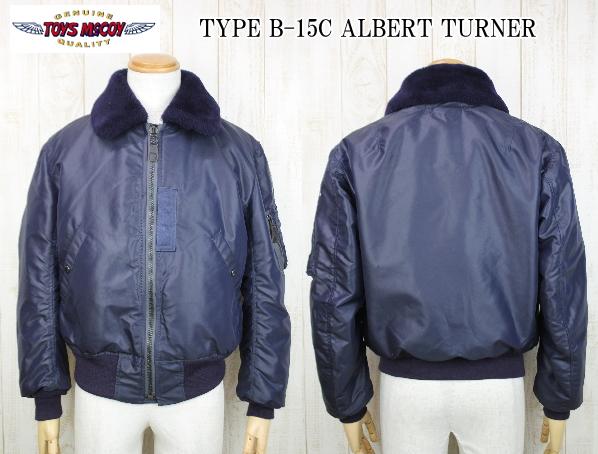 TOYS McCOY PRODUCT トイズマッコイプロダクト TYPE B-15C ALBERT TURNER TYPE B-15C アルバートターナー TMJ1822 エアフォースブルー