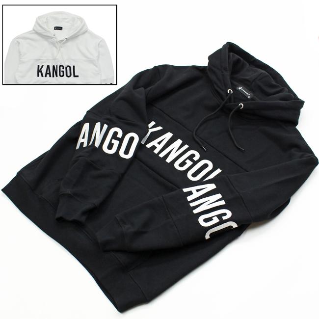 KANGOL カンゴール キリカエ 刺繍 ロゴ パーカー 9473-1553 メンズ
