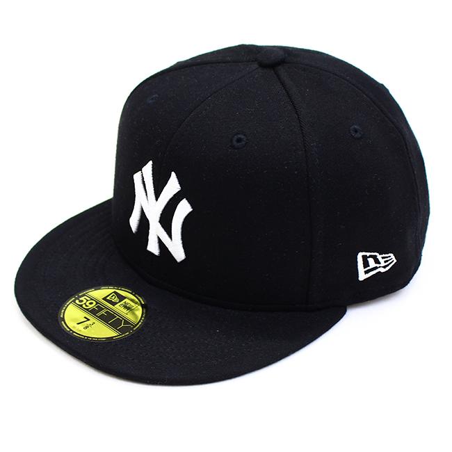 NEW ERA ニューエラ 59FIFTY ペールトーンスウェット ニューヨーク・ヤンキース ブラック × ホワイト 11901299 キャップ 帽子