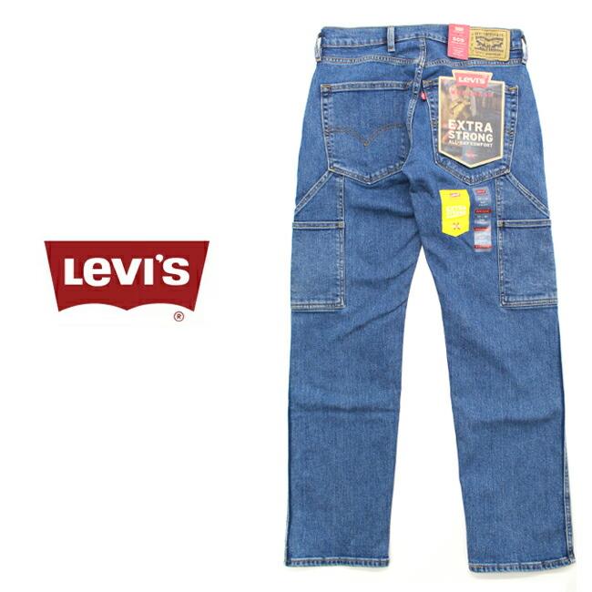 Levi's リーバイス WORKWEAR 505 レギュラーストレート ペインターパンツ デニム 34233-0005 メンズ