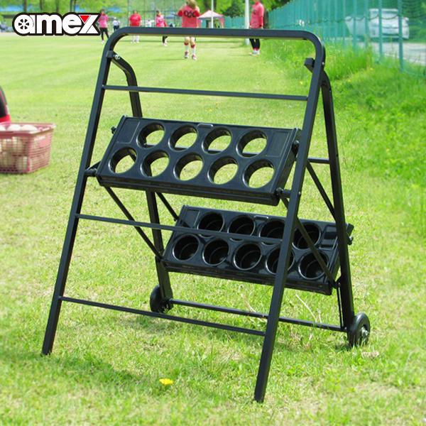 バットスタンド3 AMEX-C04-3 折畳み式で持ち運びが便利 野球 ソフトボール【AOKI S/S製】