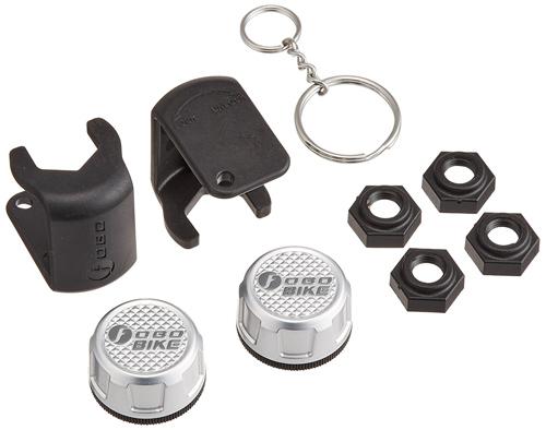 モーターサイクル用タイヤ空気圧モニタリングシステム(TPMS) Salutica FOBO Bike Silver FY1581