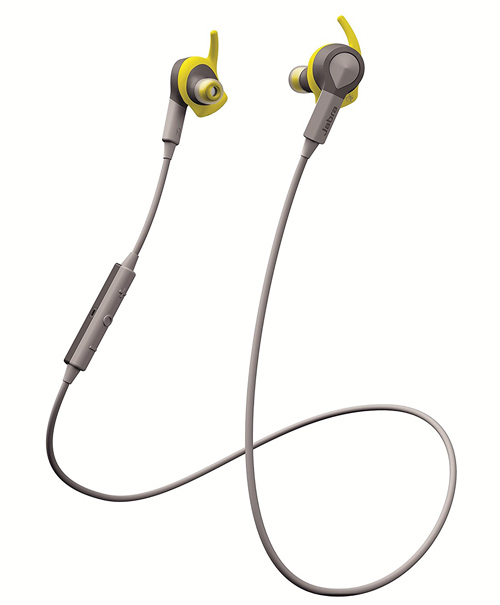 Jabra SPORT COACH WIRELESS イエロー Bluetooth イヤホン(ステレオ NFC対応 防塵防滴 音声コーチ付き)