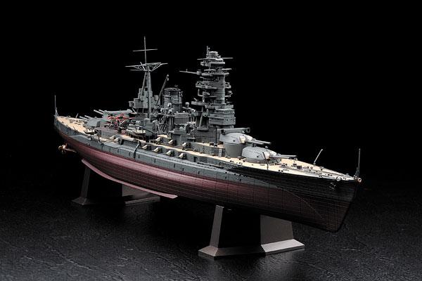 1/350 日本海軍 戦艦 長門 昭和十六年開戦時 プラモデル[ハセガワ]《取り寄せ※暫定》