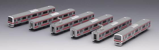 92807 JR 209-500系 通勤電車(京葉線)セット(6両)(再販)[TOMIX]【送料無料】《取り寄せ※暫定》