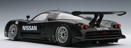 ダイキャスト・モデルカー 1/18 日産 R390 GT1 ルマン 1997 テストカー[オートアート]《取り寄せ※暫定》