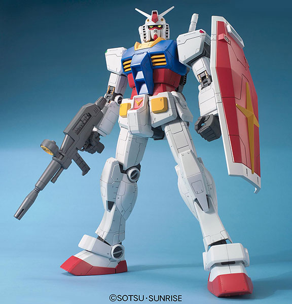Megasize Plastic Model 1/48 RX-78-2 Gundam Plastic Model(Released)(メガサイズモデル 1/48 RX-78-2 ガンダム プラモデル)
