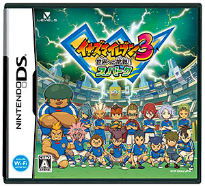 NDS Inazuma Eleven 3 Challenge the World!! Spark(Back-order)