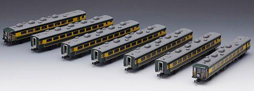 92819 14-700系客車サロンカーなにわセット(再販)[TOMIX]【送料無料】《06月予約》
