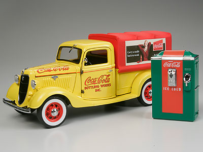 ダンバリンミント 完成品 1935年 コカ コーラ デリバリー トラック[ダンバリンミント]《取り寄せ※暫定》