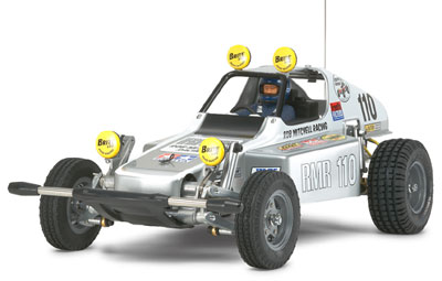 ラジコンキット 1/10 電動RCカー バギーチャンプ(2009) シルバーエディション【RC限定】[タミヤ]《取り寄せ※暫定》