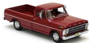 NEO 레진 완성품1/43포드 F100 픽업 트럭 레드 1968[레프리카즈]《제고품절》