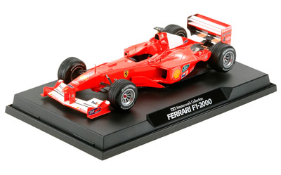 マスターワークコレクション 完成品 1/20 フェラーリ F-1 2000 フランスGP #4 (バリチェロ仕様)[タミヤ]《取り寄せ※暫定》