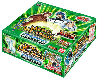 Miracle Battle Carddass Chou Gekitou-hen - Toriko Ozone Grass in the Firmament Booster BOX TR04