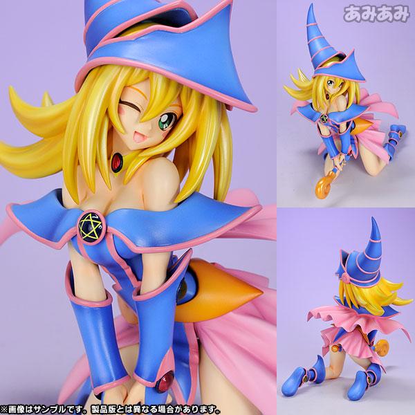 Yu-Gi-Oh! Duel Monsters - Dark Magician Girl 1/7 Complete Figure(Released)(遊☆戯☆王 デュエルモンスターズ ブラック・マジシャン・ガール 1/7 完成品フィギュア)