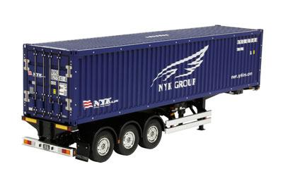 1/14ビッグトラック トレーラートラック用 日本郵船 40フィートコンテナ セミトレーラー[タミヤ]《取り寄せ※暫定》