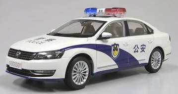上海VW 特注モデル 1/18 VW パサート 中国公安車両[フロンティアート]《取り寄せ※暫定》