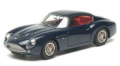 Amiami Handmade Model Car 1 43 Aston Martin Db4gt Zagato Dark Blue