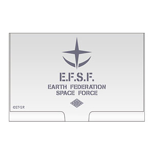 Mobile Suit Gundam - Business Card Case: Earth Federation Space Force(Pre-order)(機動戦士ガンダム 地球連邦宇宙軍 名刺ケース)