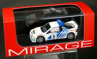 MIRAGE レジンモデル 1/43 Ford RS200 (#6) 1986Acropolis[hpi]《取り寄せ※暫定》