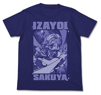 Touhou Project - Sakuya Izayoi Touhou Kontonfu ver. T-shirt/ NIGHT BLUE - M