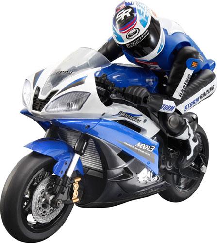 Electric RC motorcycle street racer <blue> [Tokyo Marui] << order ※ tentativeness >>
