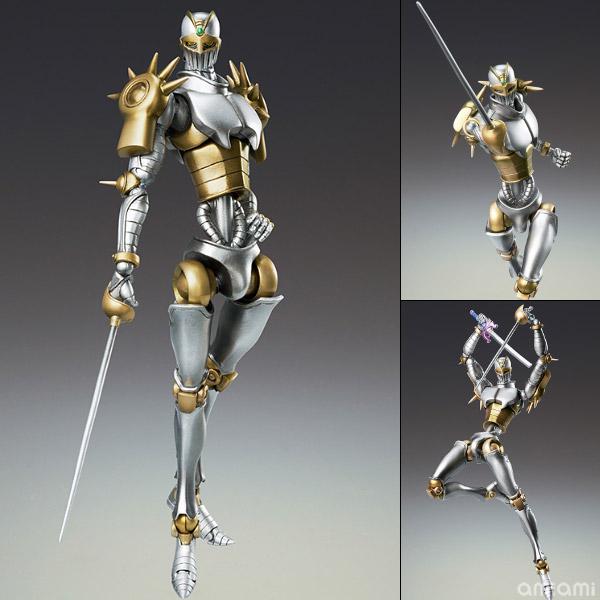 Super Action Statue - JoJo's Bizarre Adventure Part.III #51 Silver Chariot Second (Hirohiko Araki Specified Color)(Released)(超像可動 ジョジョの奇妙な冒険 第三部 51.シルバーチャリオッツ・セカンド(荒木飛呂彦指定カラー))