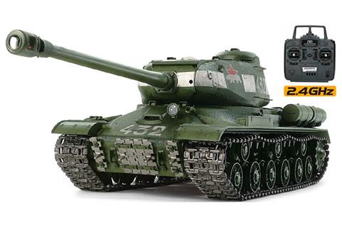 RCタンク 1/16 RCT ソビエト重戦車 JS-2 1944年型 ChKZ フルオペレーションセット[タミヤ]《取り寄せ※暫定》