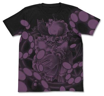 Touhou Project - Remilia Scarlet Touhou Kontonfu ver. T-shirt/ BLACK - L