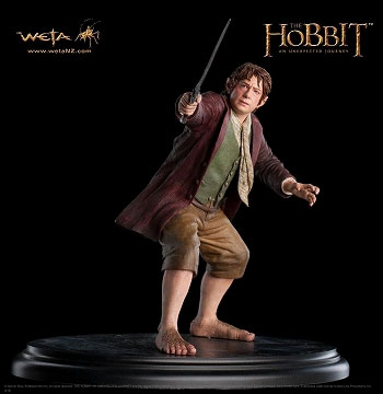 The Hobbit: An Unexpected Journey - Bilbo Baggins 1/6 Figure(Back-order)(ホビット 思いがけない冒険 ビルボ・バギンス 1/6フィギュア 単品(ロード・オブ・ザ・リング))