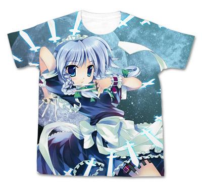 Touhou Project - Sakuya Izayoi Full Graphic Touhou Kontonfu ver. T-shirt/ WHITE - XL