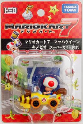 Tomica Mario Kart 7 Mach Queen Toad (w/Super Kite)