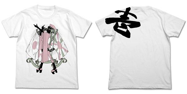 "Miku Hatsune - ""Senbonzakura"" Kousenju T-shirt / WHITE - L(Released)(初音ミク「千本桜」 光線銃Tシャツ/ホワイト-L)"