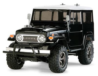 1/10電動RCカー トヨタ ランドクルーザー40 ブラックスペシャル 塗装済みボディ(CC-01シャーシ)[タミヤ]《取り寄せ※暫定》