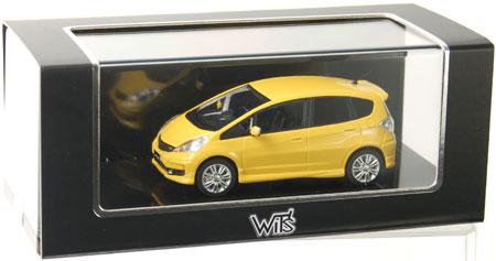 WIT'S Complete Resin Model 1/43 Honda FIT RS Premium Yellow Pearl II