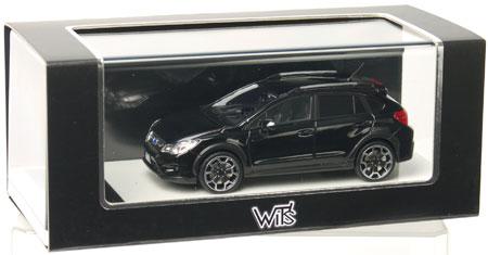 완성 레진 모델1/43 SUBARU XV크리스탈 블랙・실리카[WIT'S]《제고품절》