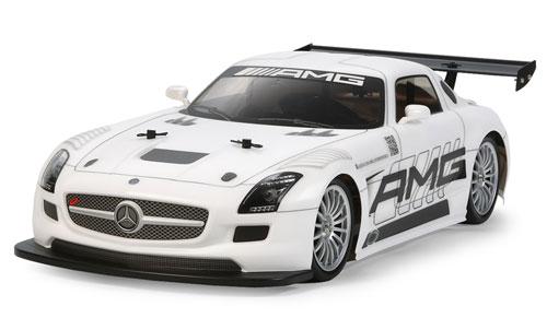 1/10電動RCカー RCC メルセデス・ベンツ SLS GT3 AMG (TT-02シャーシ)[タミヤ]《取り寄せ※暫定》