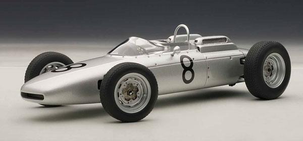 シグネチャーシリーズ 1/18 ポルシェ 804 F1 1962 #8(ドイツGP/ヨアキム・ボニエ)[オートアート]《取り寄せ※暫定》