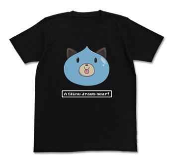 초차원 게임네프테누스라이누 T셔츠/블랙-XL(재판)[코스파]《제고품절》
