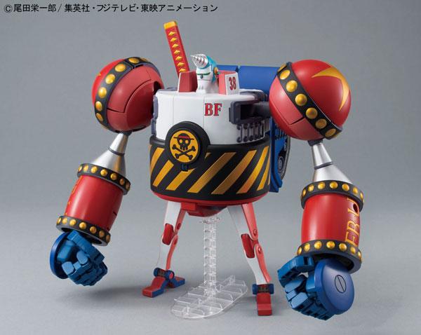 ベストメカコレクション ワンピース フランキー将軍 プラモデル(Best Mecha Collection - ONE PIECE: General Franky Plastic Model(Released))
