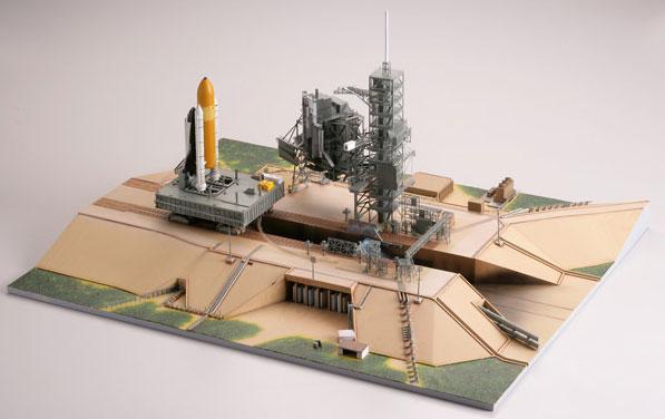 기술 MIX 우주선 시리즈기술<한정> SC05 1/700셔틀 발사대 LC39[토미 텍]《제고품절》