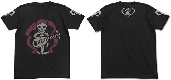 Bodacious Space Pirates the Movie - Bentenmaru T-shirt / BLACK - L(Released)(劇場版 モーレツ宇宙海賊 弁天丸Tシャツ/ブラック-L)