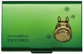Studio Ghibli Works (1) My Neighbor Totoro - Metal Card Case / Green(Released)(スタジオジブリ作品 (1)となりのトトロ メタルカードケース/グリーン)