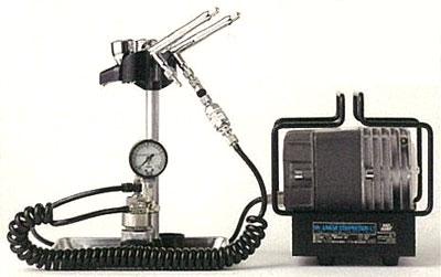 PS319 リニアコンプレッサーL7/プラチナツイン・圧力計付レギュレーターセット(再販)[GSIクレオス]【送料無料】《在庫切れ》