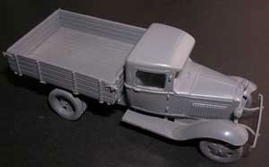 1/72 GAZ-AA 4-wheel Truck Plastic Model(Back-order)(1/72 GAZ-AA4輪トラック プラモデル)
