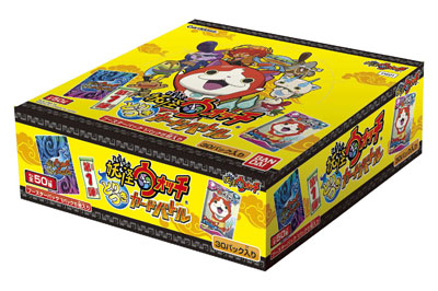 Carddass Youkai Watch Toritsuki Card Battle Vol.1 Booster YW01 12BOX Carton