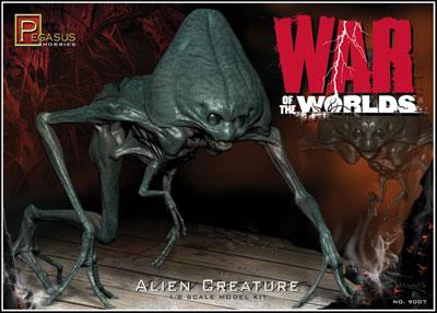 War of the Worlds 1/8 Alien Figure Set Hard Sofubi & Plastic Model